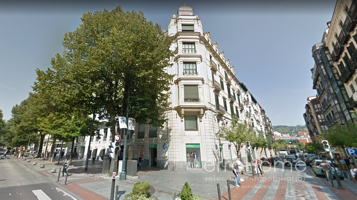 EXCLUSIVO PISO EN GRAN VIA DE BILBAO